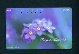 JAPAN - Magnetic Phonecard - Flower(s) As Scan (231-071) - Blumen