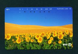 JAPAN - Magnetic Phonecard - Flower(s) As Scan (231-303) - Blumen
