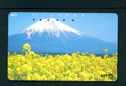 JAPAN - Magnetic Phonecard - Flower(s) As Scan (111-093) - Blumen
