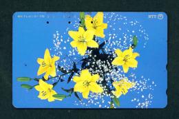 JAPAN - Magnetic Phonecard - Flower(s) As Scan (231-183) - Blumen