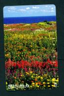 JAPAN - Magnetic Phonecard - Flower(s) As Scan (251-310) - Blumen