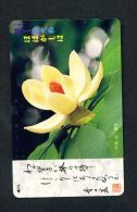 JAPAN - Magnetic Phonecard - Flower(s) As Scan (331-142) - Blumen