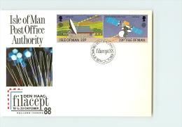 ISLE  OF  MAN -   FDC  -  EUROPA 88 - Man (Insel)