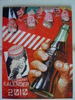 Coca-Cola 2010 Kalender Calendrier Calendar A4 Formaat Uitgifte België Edition Belge - Calendriers