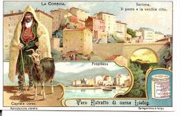 CORSE -  CORSICA - SARTENE - PROPRIANO - Chromo 1910 LIEBIG - Berger Corse - Liebig