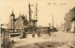 Hale  - Het Statie / La Gare - Speciaal - 1929  ( Verso Zien ) - Halle