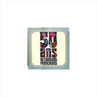 50 Ans De Chansons Francaises Coffret De 10 Vinyls 1974 - Vollständige Sammlungen