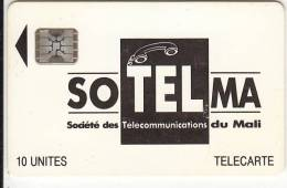 MALI - Soltelma Logo(large), First Issue 10 Units, BN : 40783, Chip SC5, Used - Mali
