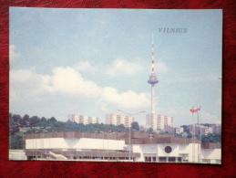 Exhibition Palace Of Economic Achievements Of Lithuania -  TV Tower - Vilnius - 1986 - Lithuania - USSR - Unused - Litouwen