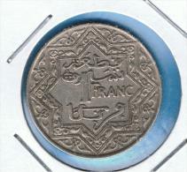 MARRUECOS - MOROCCO -  1 Franc  ND (1921) Y#36.1 - Marruecos