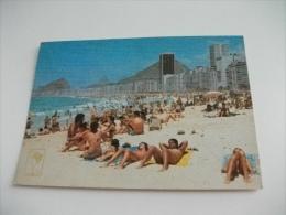 Pin Up Spiaggia   Rio De Janeiro Brasile  Copacabana - Pin-Ups