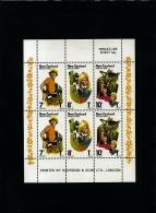 NEW ZEALAND - 1976  HEALTH   MS   MINT NH - Blocchi & Foglietti