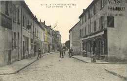 Seine Et Marne - Ref  A604- Champs - Rue De Paris   - Carte Bon Etat  - - Other Municipalities