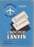 Chocolat Lanvin Dijon L'oiseau Blanc - Protège-cahiers