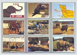Lessay (50) - Zoo De La Fosse à La Reine (Recto-Verso) (JS) - Frankreich