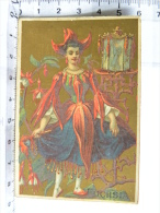 Chromo épicerie Des Halles Fénéant-Michau PREUILLY (37) Indre Et Loire - FUCHSIA - Femme Fleur - Autres