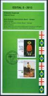 BRAZIL 2013  -  BRAZIL AND GEORGIA  - ART AND CULTURE - OFFICIAL BROCHURE  - EDICT # 5 -2013 - Brazil