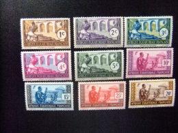AFRICA EQUATORIAL FRANCESA A.E.F Año 1937 VARIA Yvert Nº 33 Al 62 + 77 Ver Fotos - Nuevos