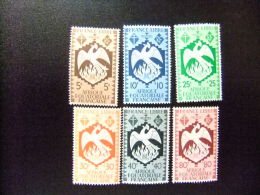 AFRICA EQUATORIAL FRANCESA   A.E.F  Año 1941 Serie De Londres   Yvert Nº 141 / 146 * MH  Incompleta - Nuevos