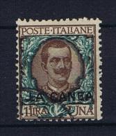Italy: Levant La Canea  Sa 12,  Used, Signed  Mi Nr 12 - 11. Oficina De Extranjeros