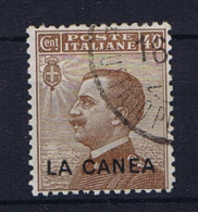Italy: Levant La Canea  Sa 18 Used - 11. Oficina De Extranjeros