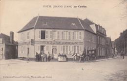 80 - LE CROTOY - Hôtel Jeanne-d´Arc (CP En Franchise Avec Cachet Ecole Militaire D´aviation ...) - Le Crotoy