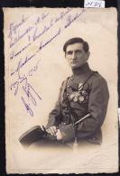 Militaire - Officier Français à Genève (Photo) Avec Décorations Françaises Et Suisses ? En 1926 ; Pli (scan) (11´316) - Unclassified