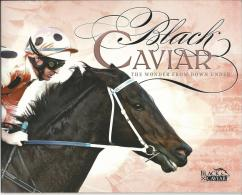2013 Black Caviar 25 Wins 3 Mini Sheets In Pack Pictures Show All 6 Sides Of Pack Complete Mint Unhinged Gum - Blocks & Sheetlets