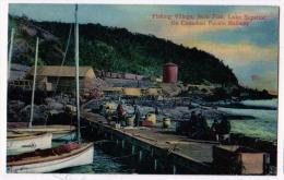 Fishing Village, Jack Fish, Lake Superior, Ont - Non Classificati