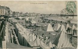 CP, 85, Les Sables D'Olonne, La Plage, Voyagé En 1907 - Sables D'Olonne