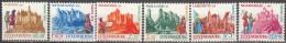 Luxembourg 1970 Michel 814 - 819 Neuf ** Cote (2008) 2.50 Euro Caritas - Neufs
