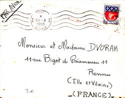 Poste Navale 1965 - Flamme Continue -  Navale - - Marcophilie (Lettres)
