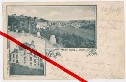 PostCard - Aach (Hegau) - Schulhaus - 1909 - Verlag Julius Pfeifer, Aach - Konstanz