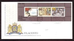 Jaar 1984 - FDC N° 218 -  N° Y/T  BF N° 26 - 100 Jaar Georganiseerde Filatelie. - FDC