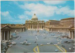 Roma - Piazza S. Pietro: LANCIA FULVIA COUPÉ, ALFA ROMEO GIULIA, CITROËN DS,PIAGGIO APE,MERCURY COMET - Auto/Car-Italia - Voitures De Tourisme