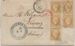 Tunis  : Rare Affranchissement Pour La Saxe - Tunisie (1888-1955)