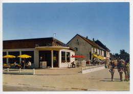 """MERVILLE-FRANCEVILLE---Avenue De Paris (animée,restaurant """"Hippocampe"""") ,cpm N°94  éd Artaud - Andere Gemeenten"""