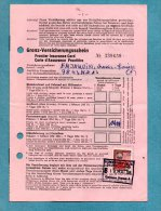 ALLEMAGNE 1958  ASSURANCE INSURANCE VERSICHERUNG HUK VERBAND HAMBOURG - BRD