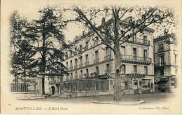 CP, 34, Montpellier, L'Hôtel Nevet, Dos Simple, Vierge - Montpellier