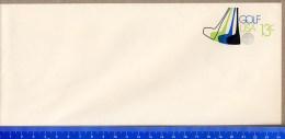 USA  -  Intero  Postale  -    Stationery  -   GOLF - Golf