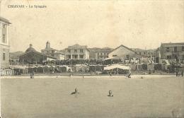 Chiavari(Genova)-La Spiaggia-1915 - Genova (Genoa)