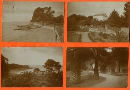 BOULOURIS  SAINT-RAPHAEL Arene Grosse  -   Villa Et Paysage Bord De Mer Lot De 4 Cartes Postales Photo - Saint-Raphaël