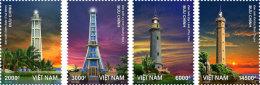 Vietnam Lighthousese - 2013 - Mint NH - Lighthouses