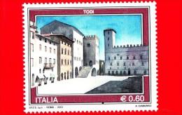 Nuovo - ITALIA - 2010 - Turismo - 0,60 € • Todi - 6. 1946-.. Republic
