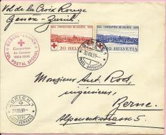 CONVENTION DE GENEVE 1939., Postal Special, Geneve-Zurich, 30.8.1939., Switzerland, Letter - Luftpost