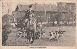 Lanaken-Tournebride (rare, Zeldzaam, Chasse, Chiens) - Lanaken