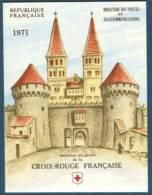 France Carnet N° 2020 ** Croix Rouge 1971 - Œuvre De Greuze TP N° 1700 Et 1701 - Carnets