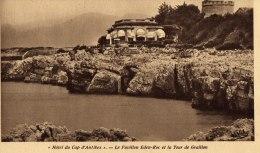 06 - Hôtel Du Cap D'Antibes - Le Pavillon Eden-Roc Et La Tour De Graillon - Edit: Lucien Eysseric - Antibes
