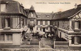 CPA  -  CONCHES   (27)  Hostellerie Du Vieux Donjon. - Conches-en-Ouche