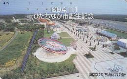 Télécarte Japon - Jeu Jeux PARC D´ATTRACTIONS - AMUSEMENT PARK Japan Phonecard - VERGNÜGUNGSPARK - ATT 288 - Spelletjes